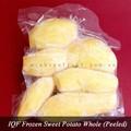 Iqf entier congelé de patate douce( pelées)