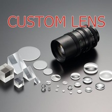 quick delivery custom order glass camera lens made in Japan , prototype production welcome