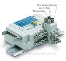 De alta calidad de dos o de tres vías conector del tubo neumático válvula de mano vhk2/3-08f-08f