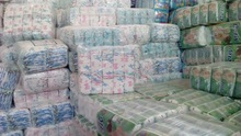 Pam_Pers Grade b Baby Dry Diapers in bales