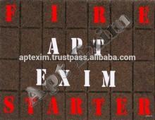 Pariffin fire starters