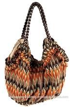 Japan wholesale autumn color mesh ethnic bag soft and light hippie bag