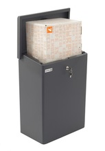 Parcel mailbox letterboxes postbox home delivery box Topbox-XL Stardust Graphitgrey