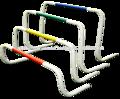 pista e di campo agilità ostacoli per la concorrenza