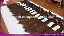 6''-32' light brown color weave grand sliky hair for extension