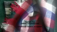Persian Vintage Wool Blanket Jajim 100% handmade stripes , Persian motif symbol , vintage picnic blanket Wholesale Orders Accept