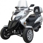 Originally New Sunny 150cc Three-Wheel Trike Scooter-Two Front Wheels