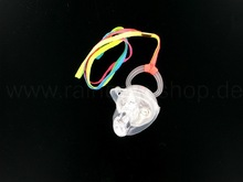 LED blinking clear pacifier