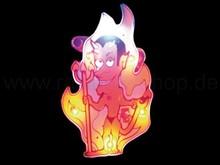 LED blinking pin Devil