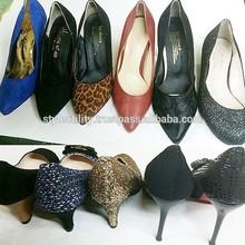 st2se01 STOCK SALE woman dress heel MOQ 1000 various style Made in korea