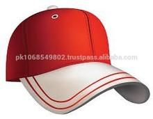Red cotton plain cap