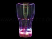 LED blinking tumbler drinking glas