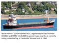 Navio de carga geral- para venda