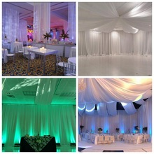 birthday party pipe drape luxury wedding tent decoration