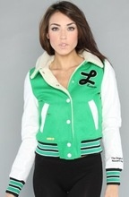Cheap Custom Youth Size Varsity Jacket Without Sleeve