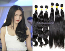 100% Virgin Human Hair Weaves-Straight/wavy
