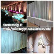 wedding decoration event aluminium vase trade show booth idea