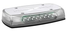 "Ultra Bright LED Minibar, 15"" Amber w/Clear Lens 18 Flash Patterns, 12-24V, 6.0Amps, Class 1, 5590CA"