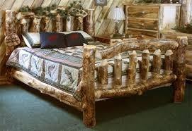 Discount Salesamish Beds Amish Aspen Wood Log Furniture Bed Buy Furniture Product On