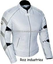 Captain America Motorbike Racing Leather Jacket , Movie Jacket - Free Shipping