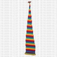 Woolen unisex long tail hat