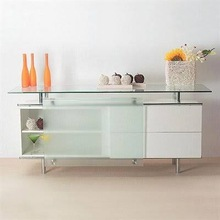 Splendor Buffet Table in White by Creative Images International