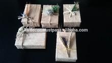 Natural gift packing