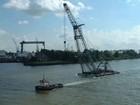 For sale:floating sheerleg crane 300 ton