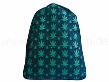 """Backpack Bag Style: """"Hemp leaf"""""""