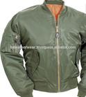 MA -1 olive green Bomber casual flight pilot jacket