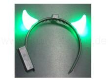 LED blinking devil horns green