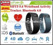 SIFIT-5.6 Health wristband activity tracker. Bluetooth daily activity tracker. Wristband activity tracker Bracelet.