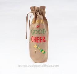 Latest design linen tote bag, canvas tote bag, wine bag