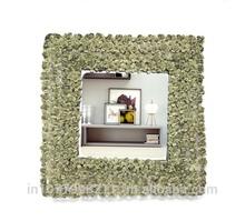 Square Mirror Leaf Design VD-GM-115