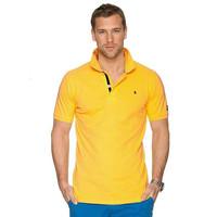 100% Cotton Bangladeshi Trendy Pique or PK Polo Shirt for Men