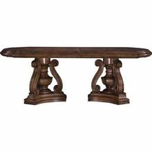 Pulaski Furniture San Mateo Double Pedestal Table Base