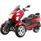 Originally New Trike Gas Motor Scooters 150cc 3 Wheels Moped