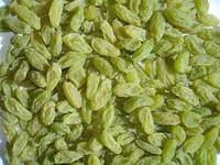 Natural green raisin