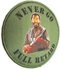 NEVER GO FULL RETARD THUNDER TROPIC MULTICAM TACTICAL VELCRO MORALE PAT