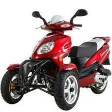 Trike Gas Motor Scooters 150cc 3 Wheels Moped