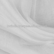 wholesale white voile fabric
