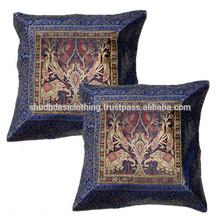Jacquard Cushion Cover , Decorative Indian Car Seat Cushion, Cushion Case Lot