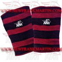 NFM Crossfit Weightlifting Fitness Heavy Weight Polyester Knee Sleeves Support Black Maroon Single Double Triple Ply
