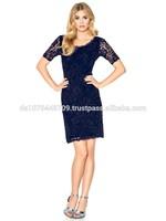Designer Lace Dress - Patrizia Dini by Heine, Germany, Size: 8-20 (UK)