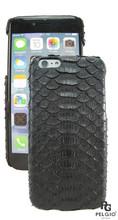 "PELGIO Genuine Python Skin Mobile Phone i6+ Plus 5.5"" Hard Case Black"