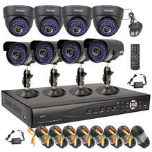 8 Ch CCTV HDMI DVR 700TVL 4 Dome 4 Bullet Security IR Camera Surveillance System