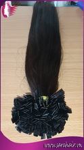 hair weave/nail/stick/flat tip prebonded hair extension distributor