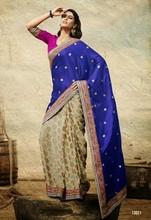 border stone work sarees / function wear sarees from india / sari