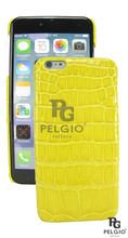 "PELGIO Genuine Crocodile Belly Skin Mobile Phone i6+ Plus 5.5"" Hard Case Green"