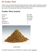 Meat and bone meal Fish meal,Fish oil